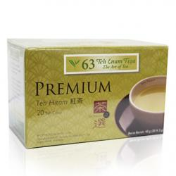 Teh 63 Black Tea Premium Tea (20 Teabags)