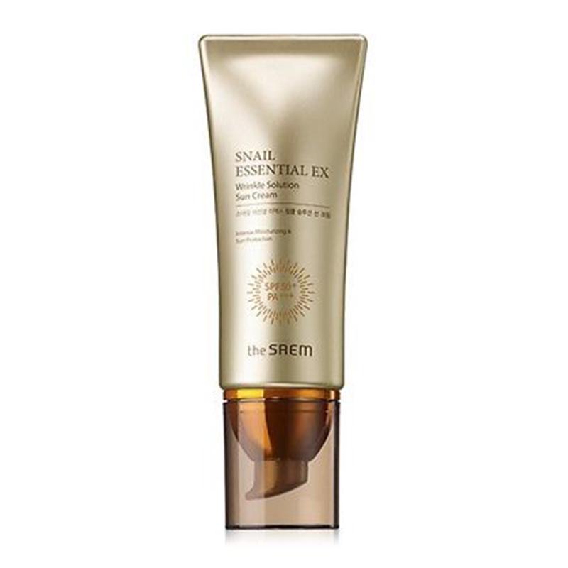 The Saem Snail Essential EX Wrinkle Solution Sun Cream