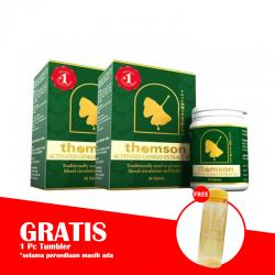 Thomson Activated Ginkgo Extract (2 X 30) (BONUS 1 Pc TUMBLER)