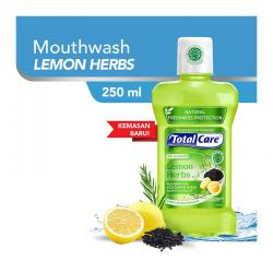 Total Care Mouthwash Lemon Herbs Protection 250ml