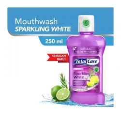Total Care Mouthwash Sparkling White 250ml