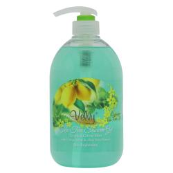 Velvy Tea Tree Shower Gel Tropical With Citrus-Mint-Aloe Vera Extract 1000ml