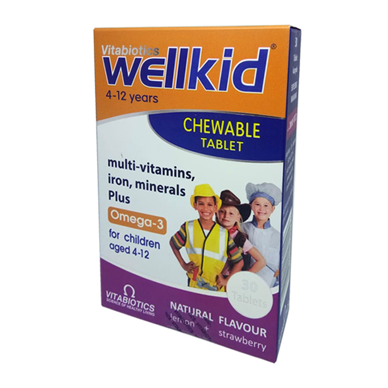 Vitabiotics Wellkid Chewable 30Tablet | Gogobli