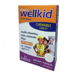Vitabiotics Wellkid Chewable 30Tablet