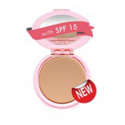 Viva Cosmetics Compact Powder Bright Beauty Spf 15 Natural | gogobli