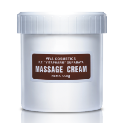 Viva Cosmetics Massage Cream 550g
