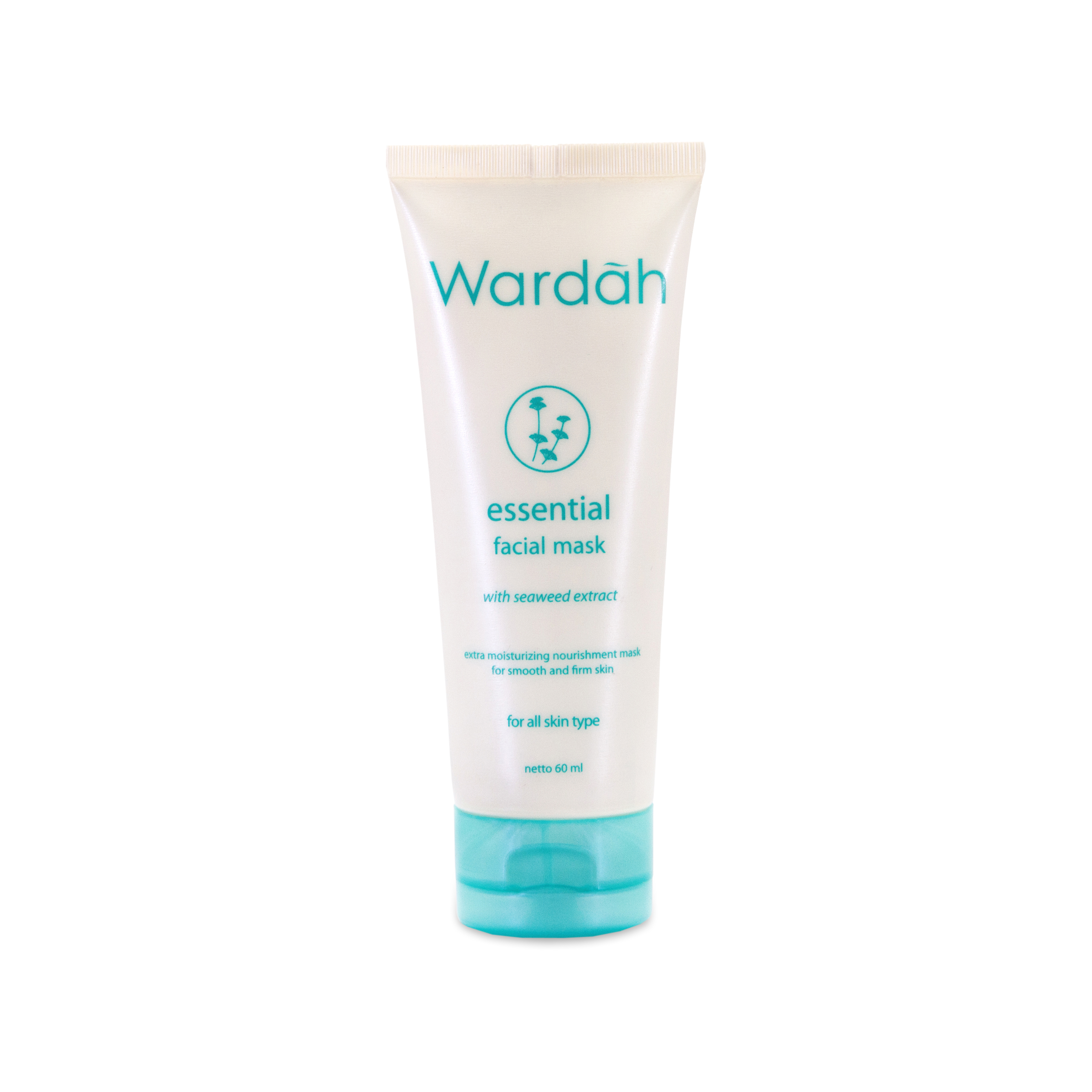 Wardah Nature Daily Seaweed Balancing Facial Mask 60ml