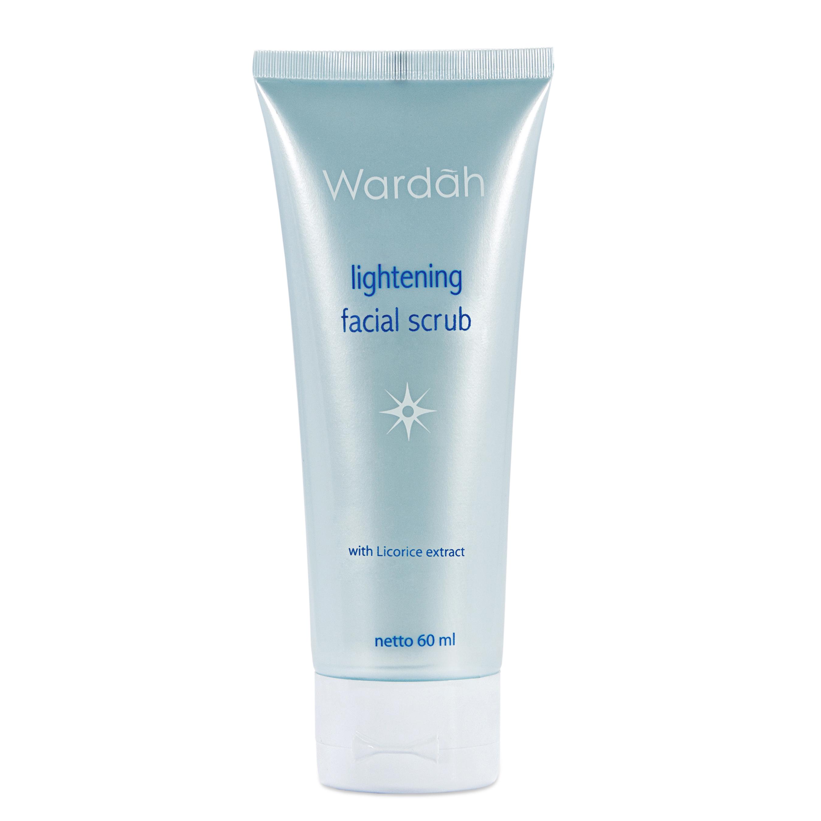 Wardah Lightening Facial Scrub 60ml Gogobli