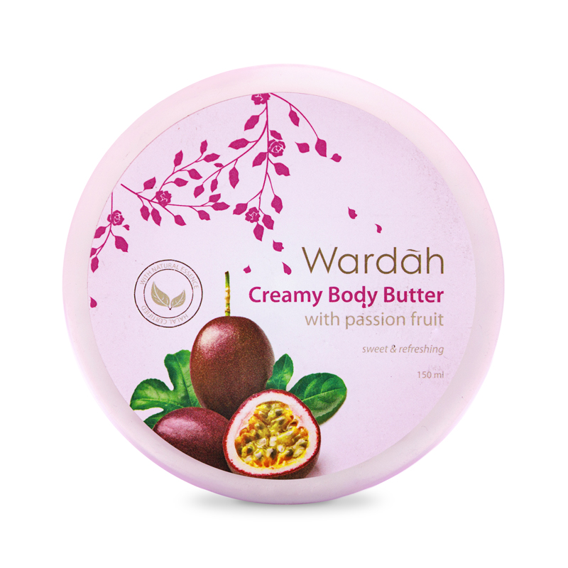 Wardah Body Butter Passion Fruit 150 Ml