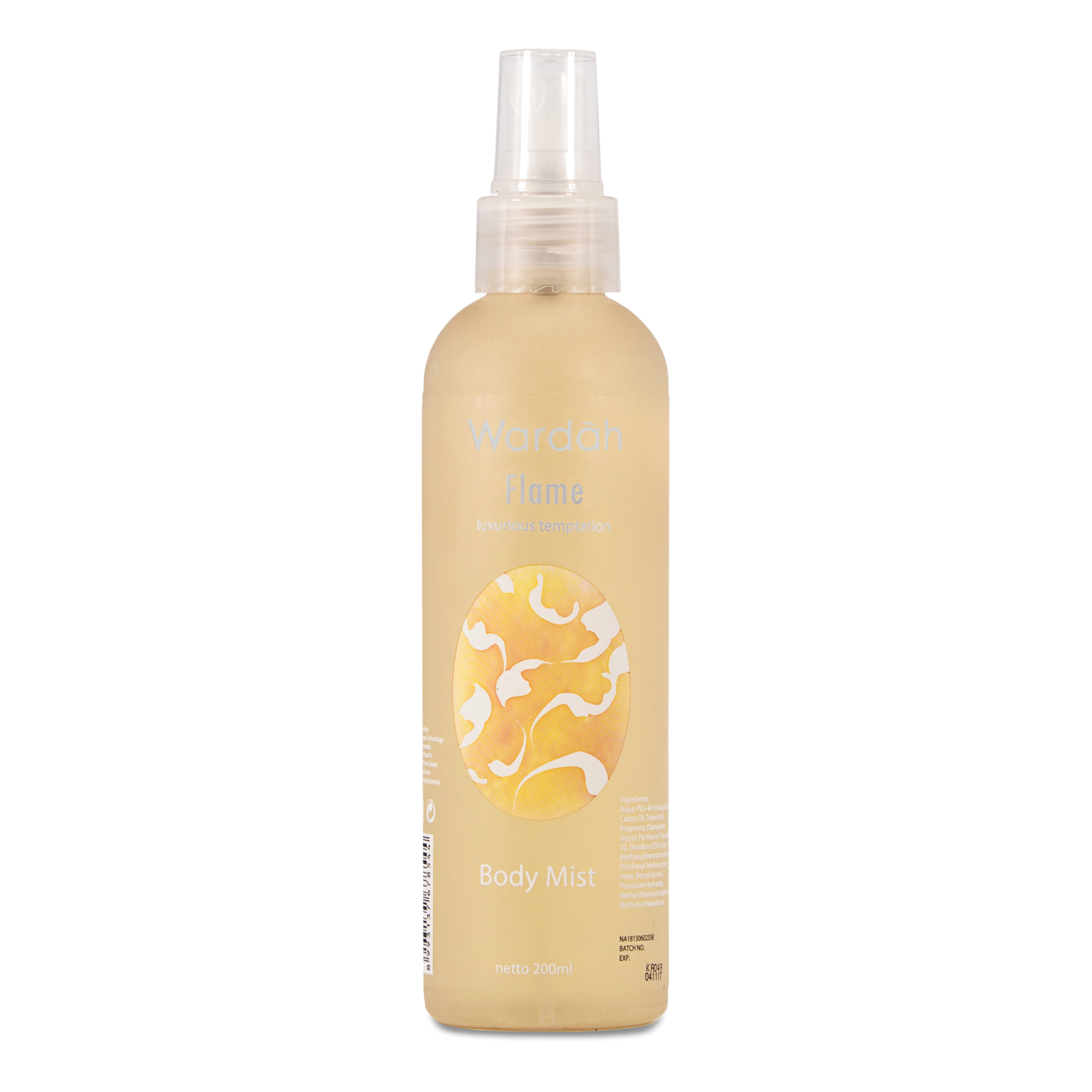 Wardah Body Mist Scentsation Flame 200 Ml