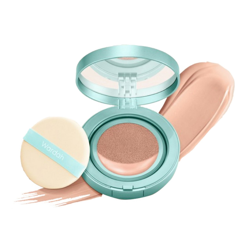 Wardah Exclusive Flawless Cover Cushion 04 Natural 15gr | Gogobli