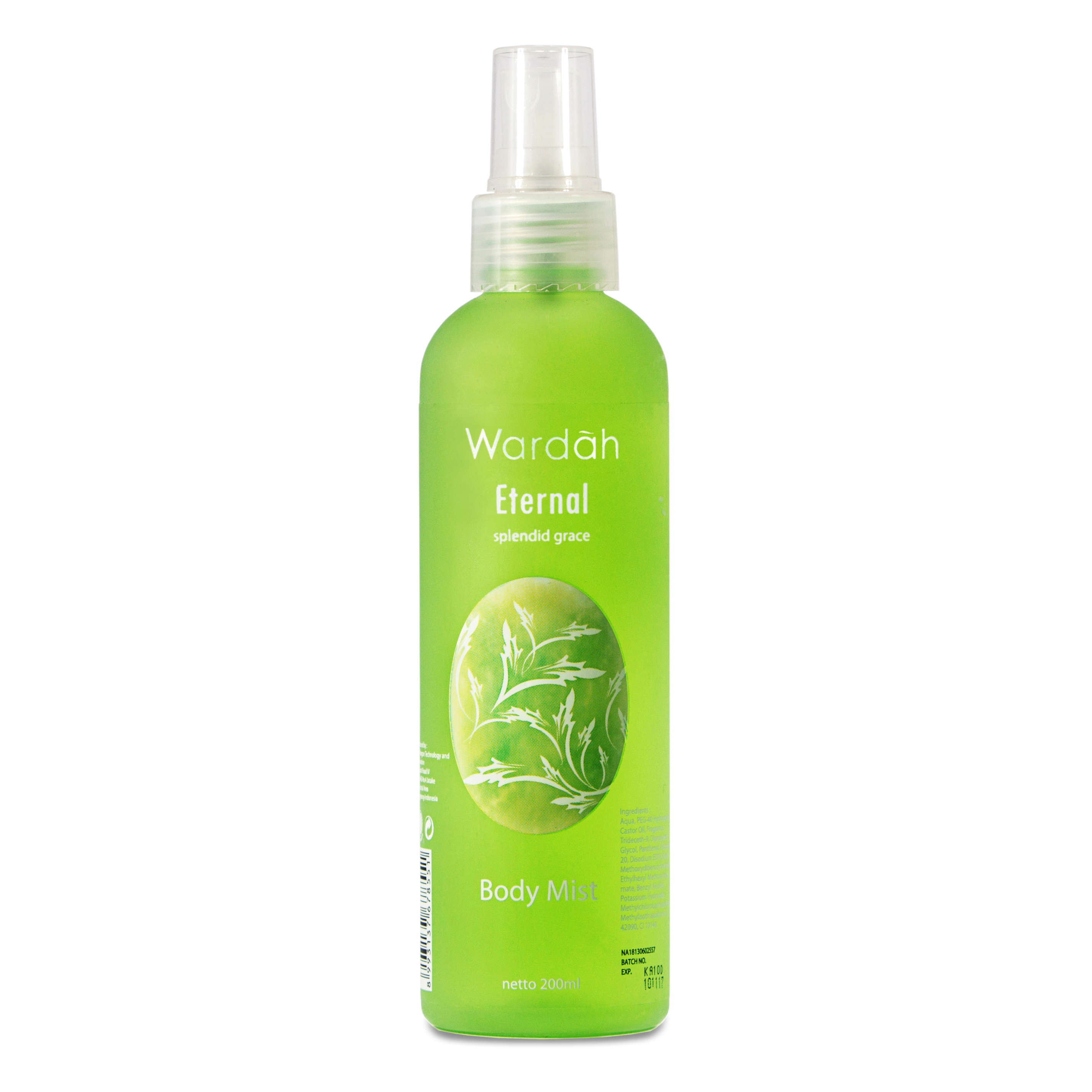 Wardah Body Mist Scentsation Eternal 200 Ml