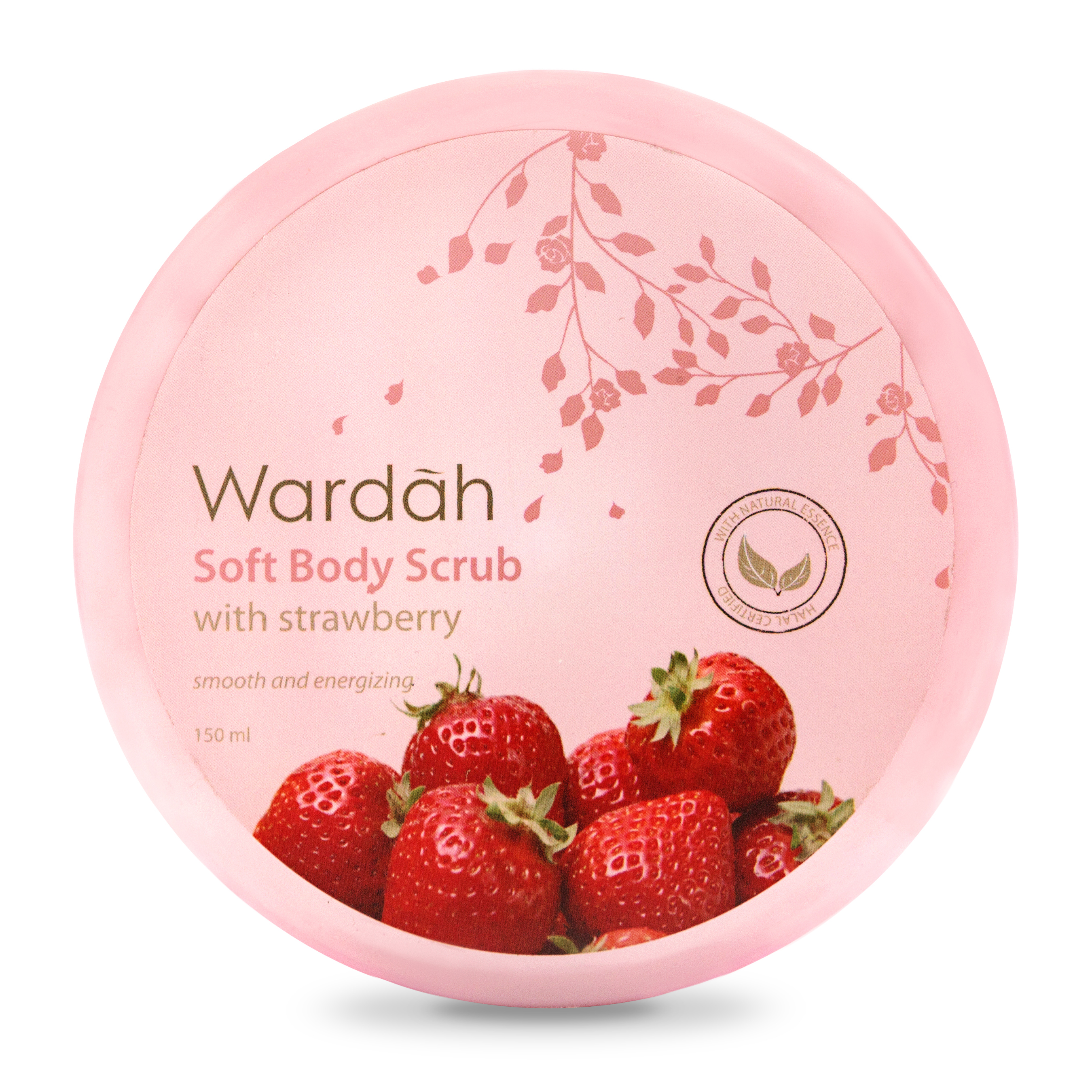 Wardah Soft Body Scrub Strawberry 150ml