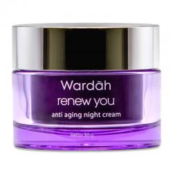 Wardah Renew You Anti Aging Night Cream 30 Gr