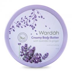 Wardah Creamy Body Butter Lavender and Ginger 50ml