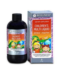 Wellness Children Multi Liquid 8Oz 240 Ml