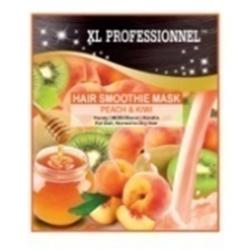 XL Professionnel Hair Smoothie Mask Peach and Kiwi 25gr